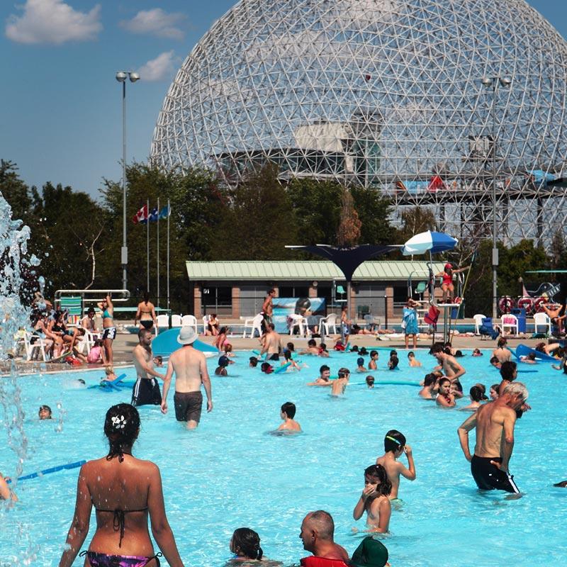 Complexe aquatique parc jean drapeau - Piscine municipale quebec boulogne billancourt ...