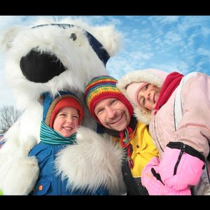 family activity, fete des neiges