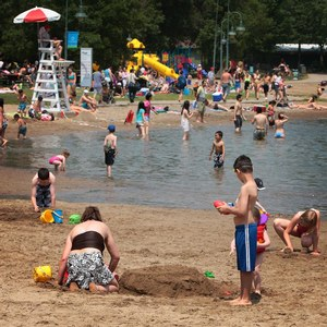 Family activity: Jean-Doré Beach at parc jean-drapeau, Montreal