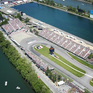 Gilles Villeneuve Circuit during the Grand Prix du Canada
