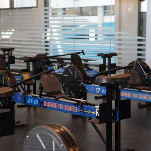 ergometric training at the The Athletes' Quarters